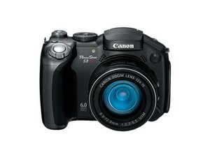 Canon Powershot S3 IS Repair