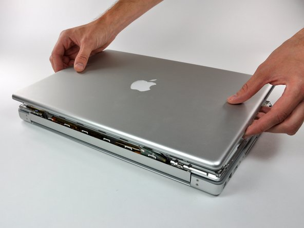 "PowerBook G4 Aluminum 15"" 1.5-1.67 GHz Rear Display Bezel Replacement"