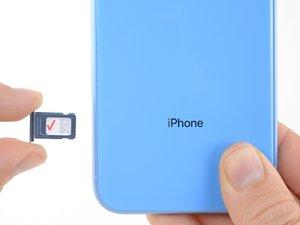 Reemplazo del tarjeta SIM