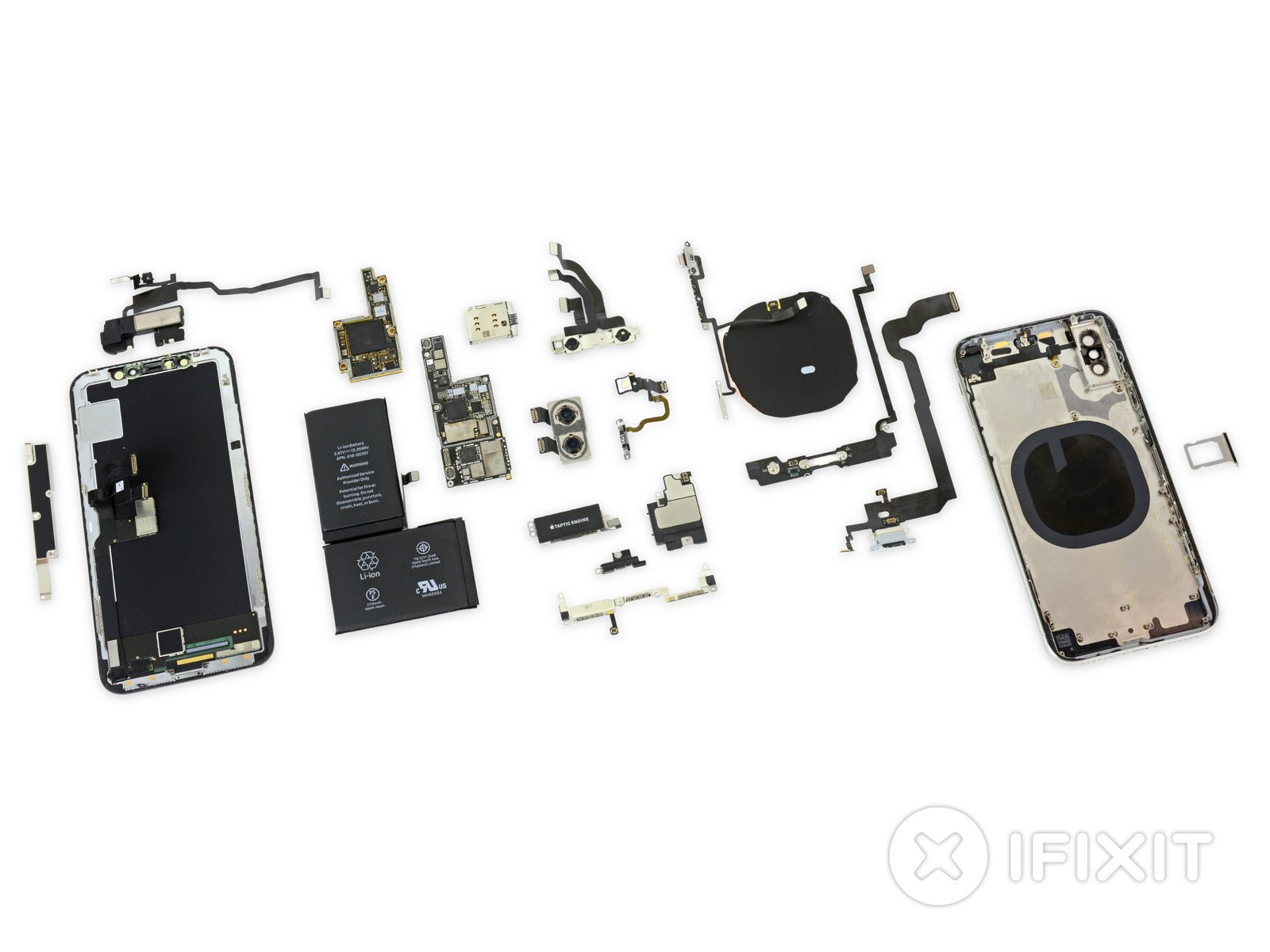 Iphone X Teardown Ifixit Computer Parts Diagram For Kids Users Will Label The