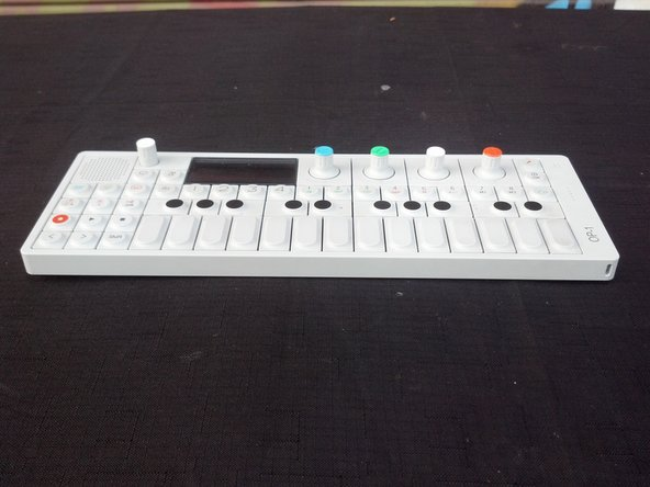 OP-1 Key/button Removal and Cleaning Guide
