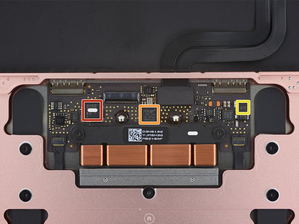 Before delving any deeper into this beauty, we take a quick look at the chips powering the trackpad: