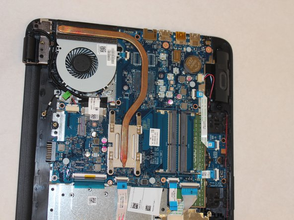 HP 15-ay014dx Motherboard Replacement