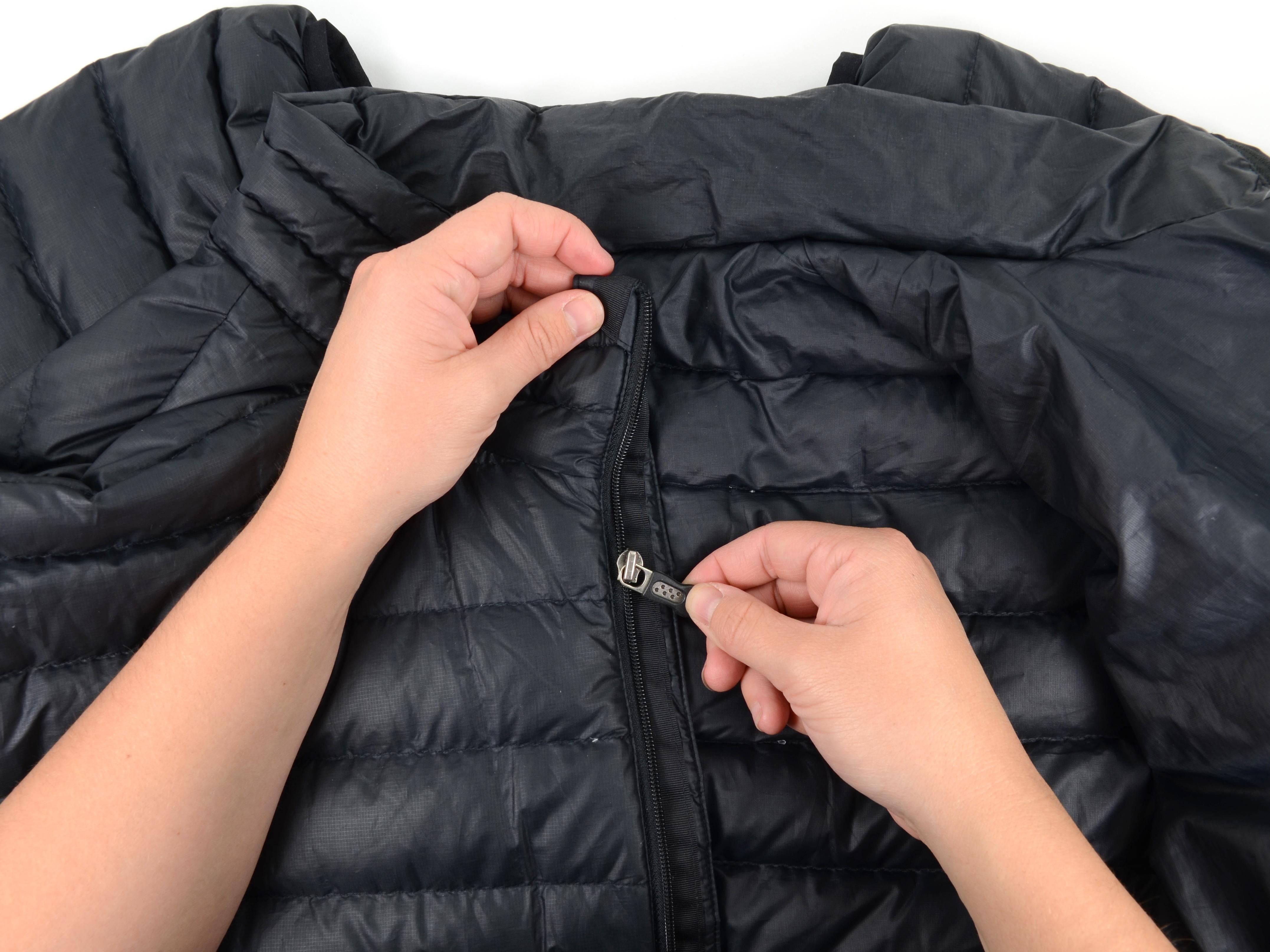 Leather jacket zip repair - Coil Zipper Slider