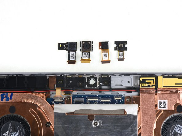 Unlike the EliteBook x360, the upper sensor components are modularly replaceable!