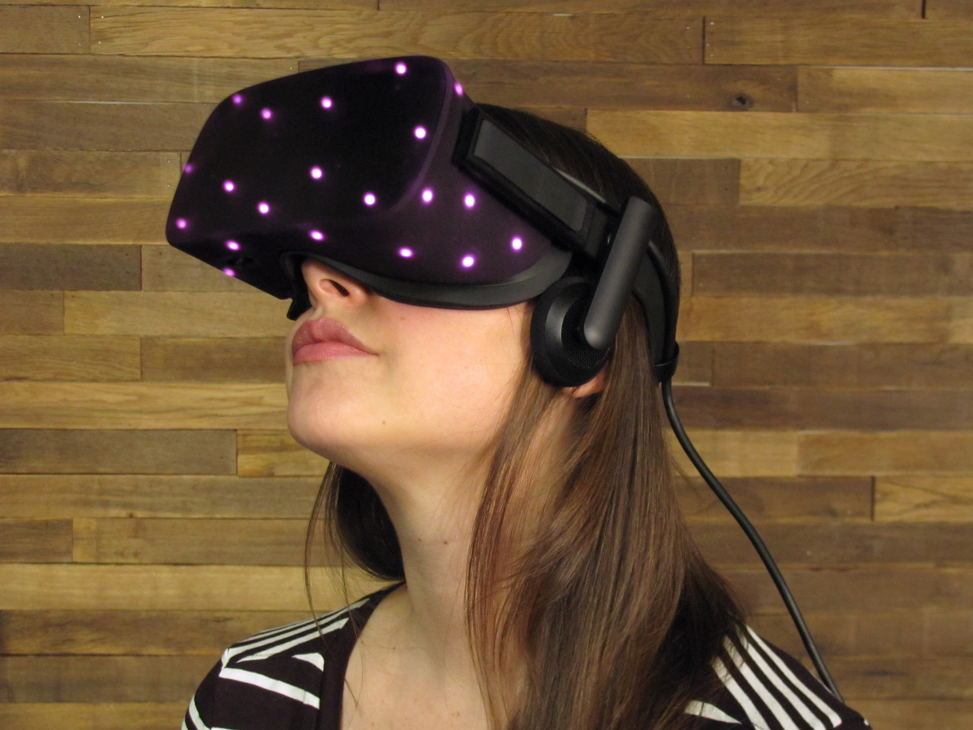 Oculus Rift IR tracking