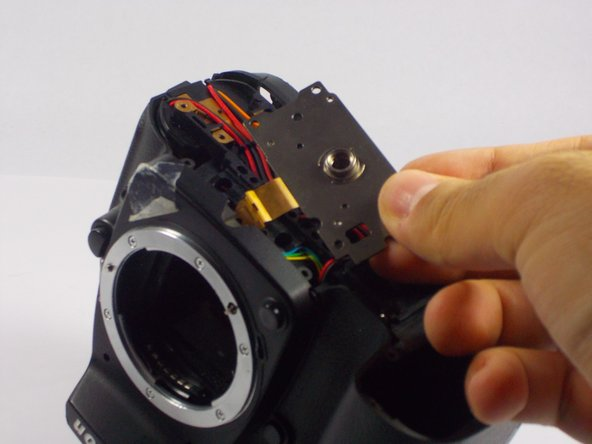 Nikon D90 Tripod Thread Plate Replacement