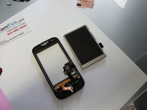 Replace the broken LCD or digitizer and reassemble in reverse.