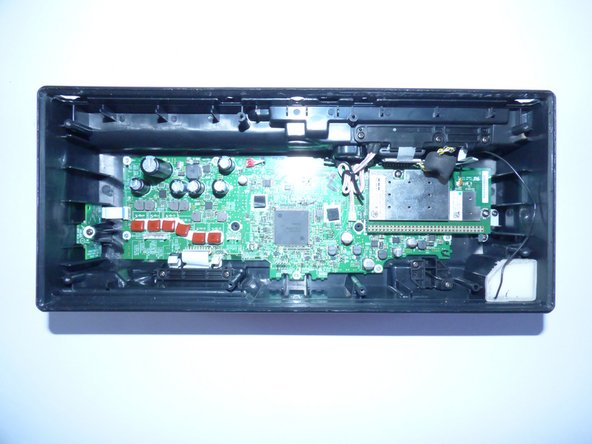 Take the whole speaker out, and disconnect the connectors from the motherboard by lightly pulling on them.