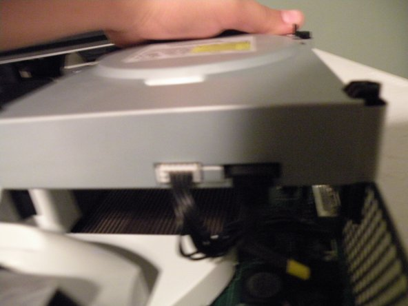 It is a SATA DVD drive with a proprietary Xbox power connector.