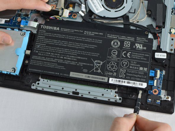 Toshiba Satellite P50W-C Battery Replacement