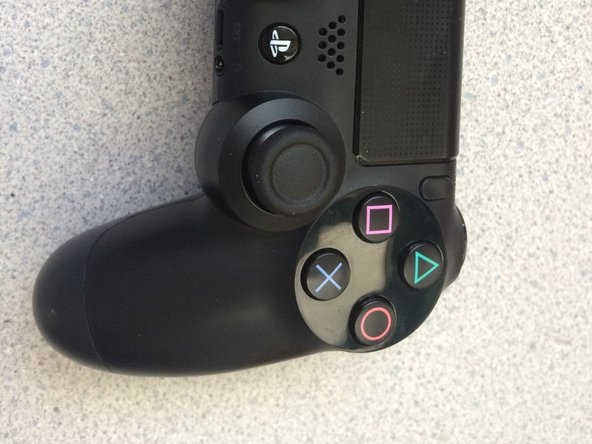 This is how the controller looks like. You will first need to flip it over and unscrew the screws.