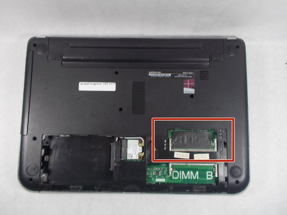 Dell Inspiron 14R-5421 RAM Replacement