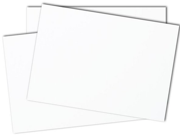 cardstock or business card Hauptbild