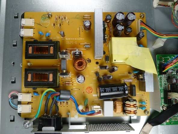Acer AL1916 Power Supply Board Replacement
