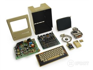 Desmontaje del Macintosh 128K