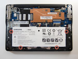 Samsung Chromebook 3 XE500C13-K02US Battery Replacement