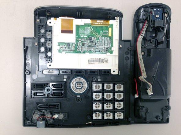Cisco 7945G IP Phone | Disassembly | Keys, handset hook, etc