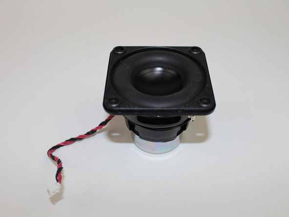 Pull the bass speaker from the internal case.