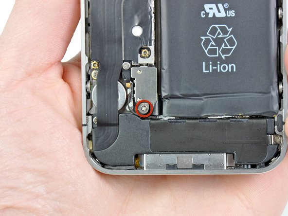 iphone verizon display assembly replacement ifixit remove the single 1 5 mm phillips screw securing the battery connector to the logic board if present