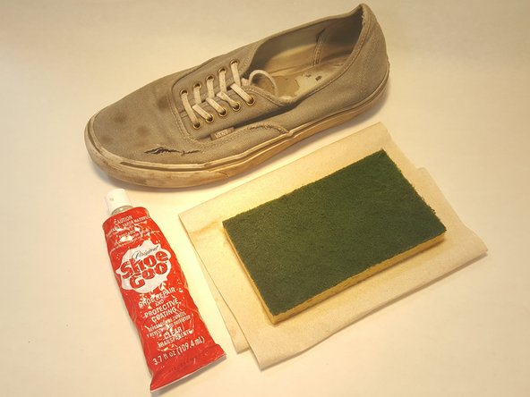 How to Patch a Canvas Shoe