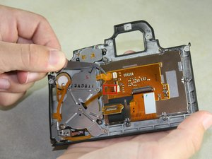Rear LCD Screen