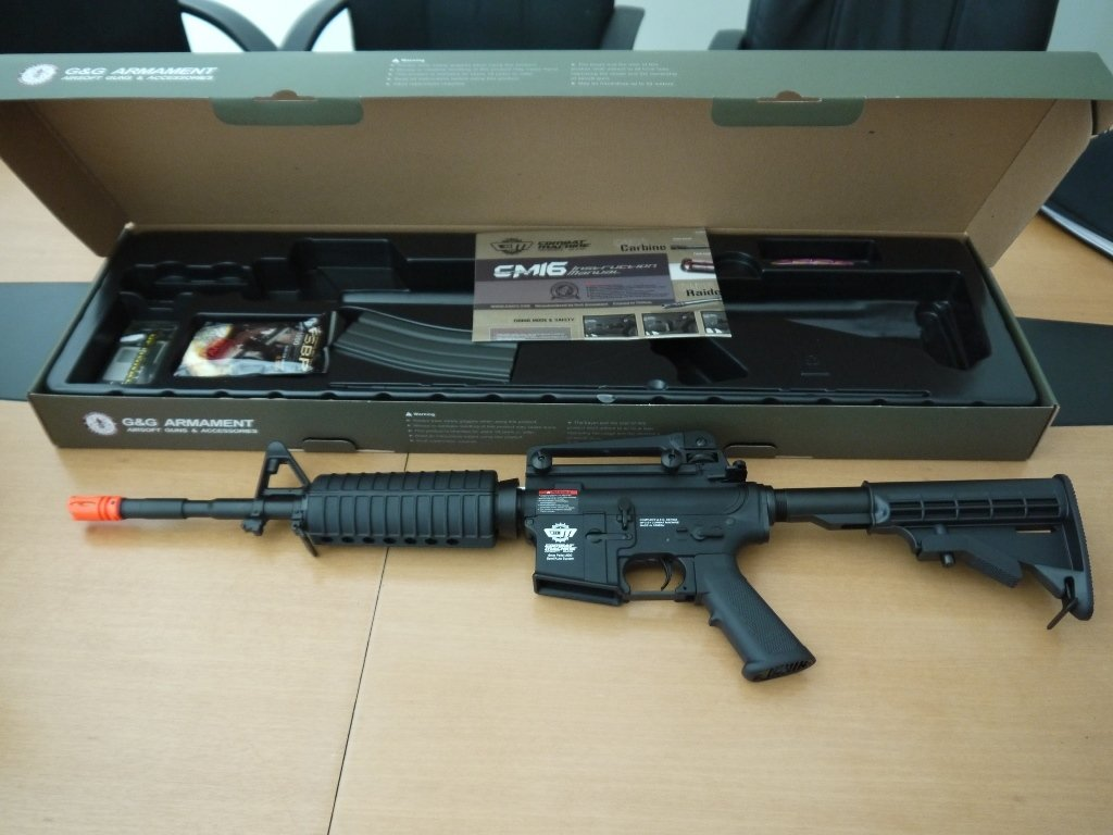 G&G CM16 Carbine Airsoft Disassembly - iFixit Repair Guide