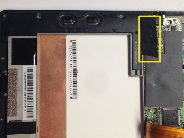 Asus TF300T Tablet Speaker Replacement
