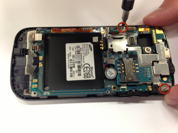 Samsung Mythic SGH-a897 Motherboard Replacement