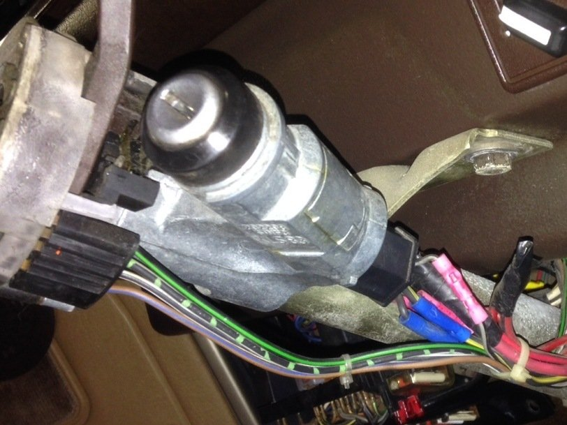 Vanagon Westfalia Ignition Switch Replacement