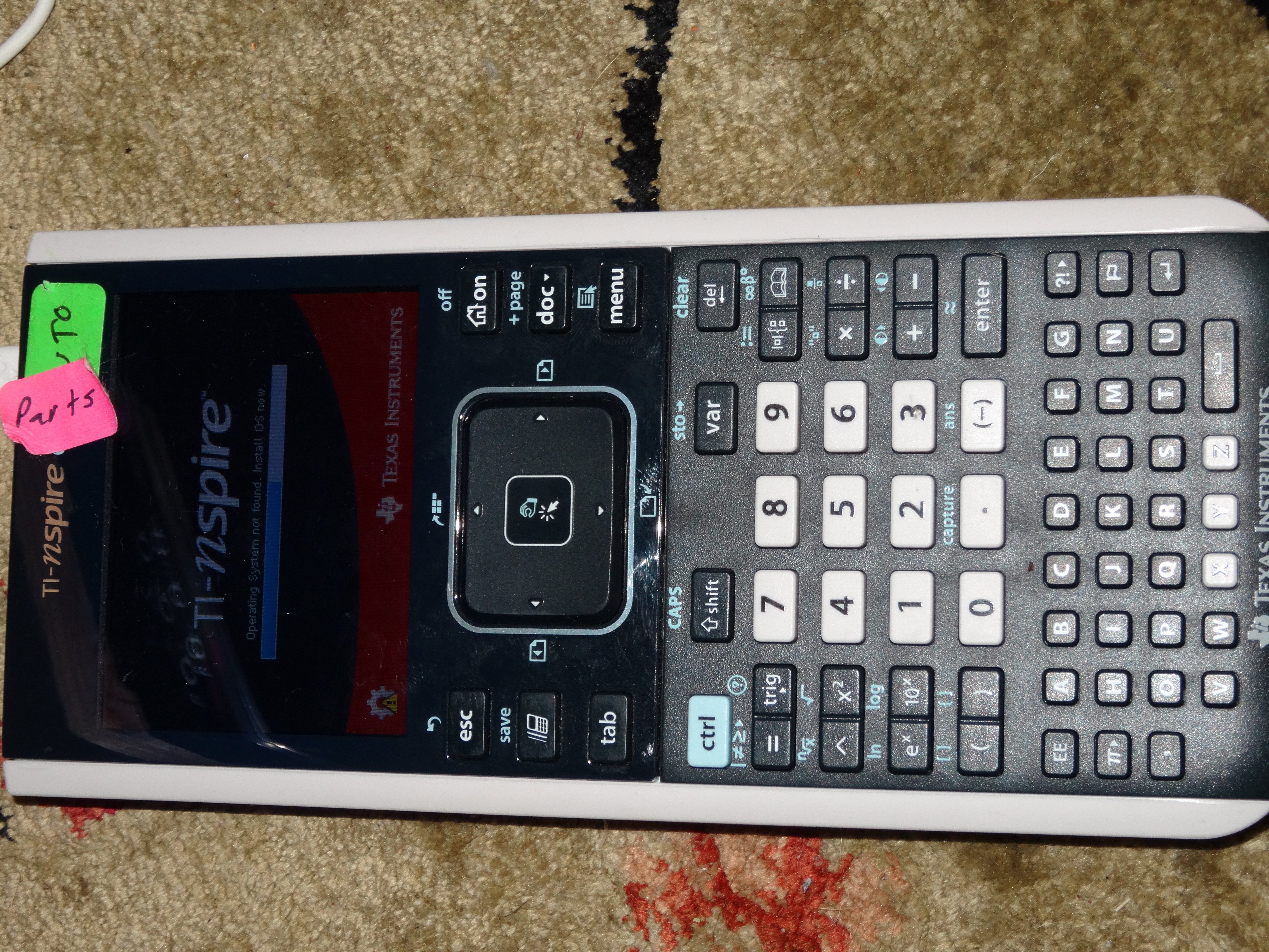 Texas Instruments TI-Nspire CX Defective Button Repair - iFixit