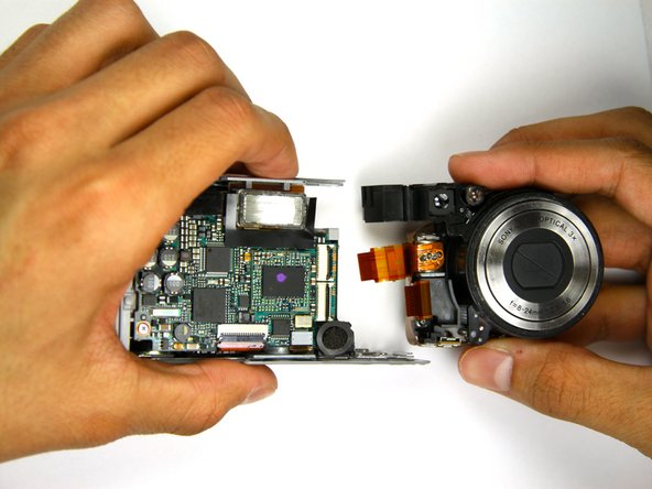 Sony Cyber-shot DSC-P9 Lens Replacement