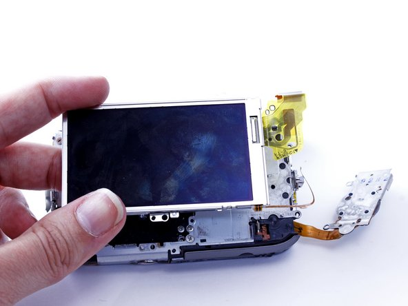 Remove the LCD screen.