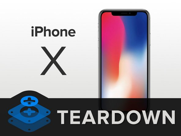 iPhone X teardown banner