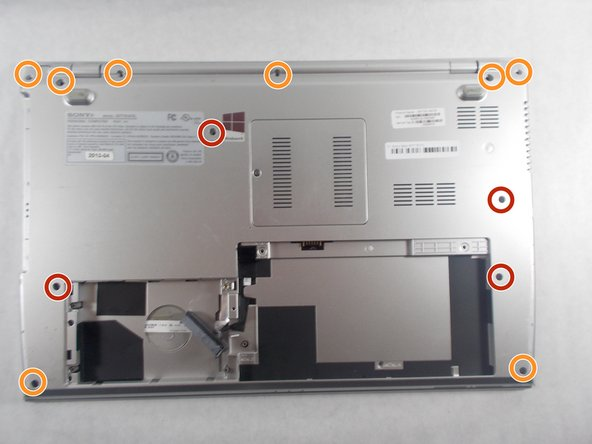 Sony Vaio SVT151A11L Back Panel Replacement