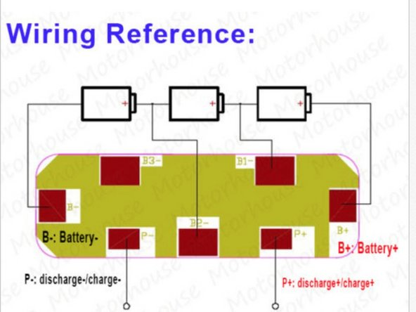 The wiring diagram may be different depending on the PCB used. But the principle is the same for all types.
