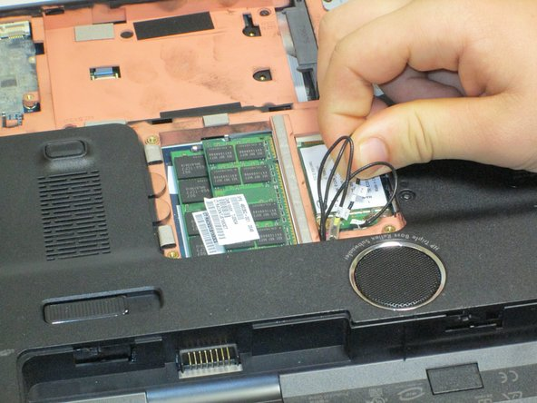 HP Pavilion dv7-1285dx Wifi Card Replacement