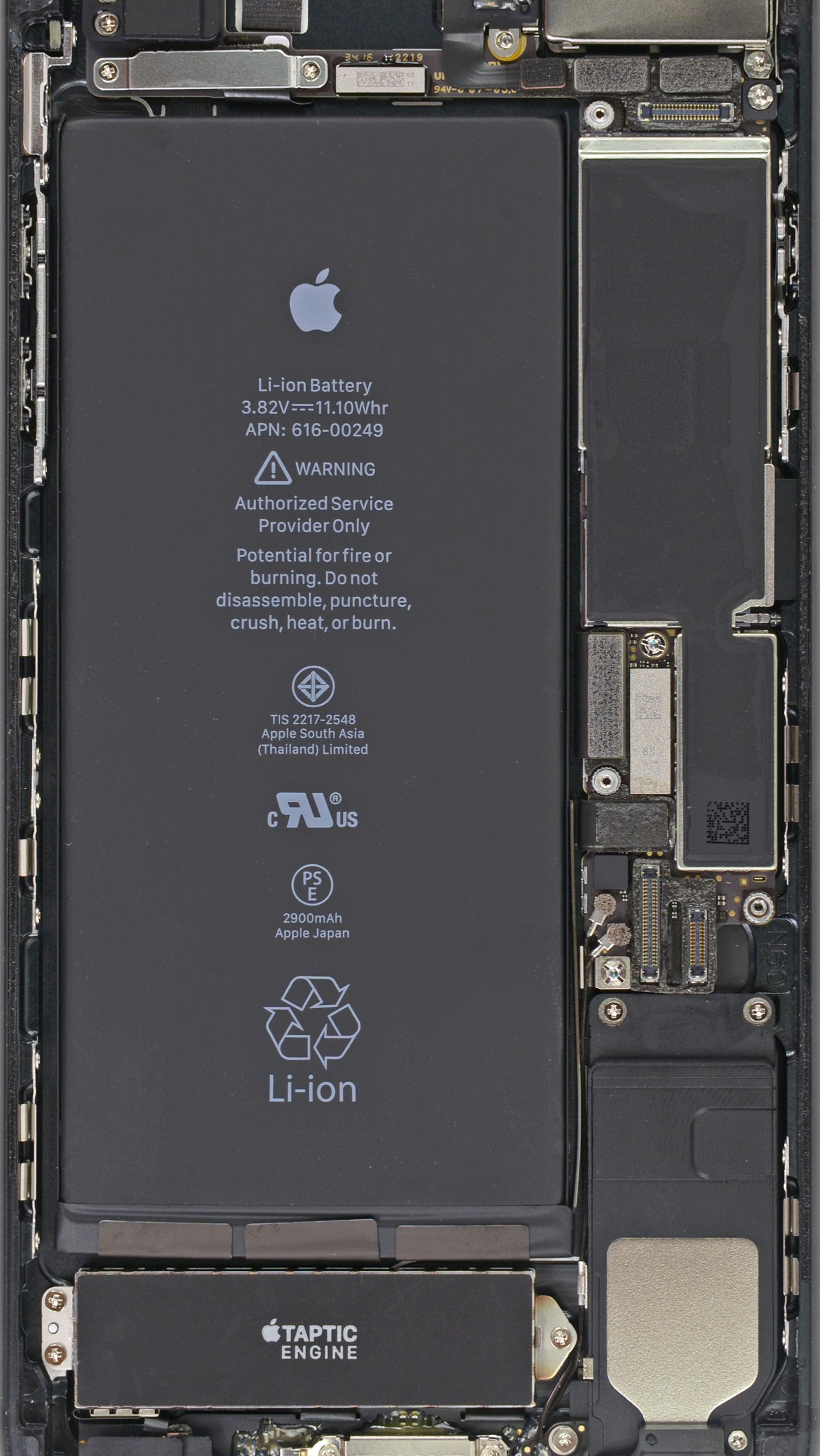 設定すると中身が透けて見えるような Iphone 7 7 Plus の壁紙が公開 Corriente Top