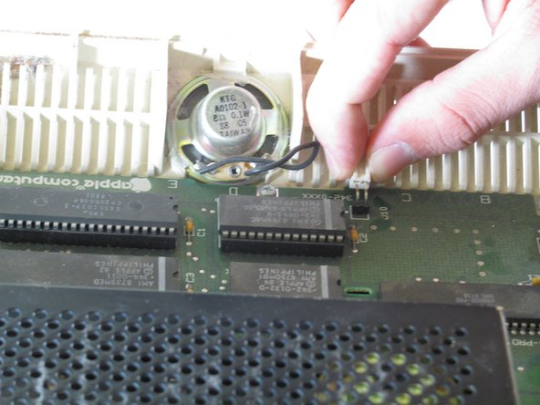 Apple IIc Speaker Replacement