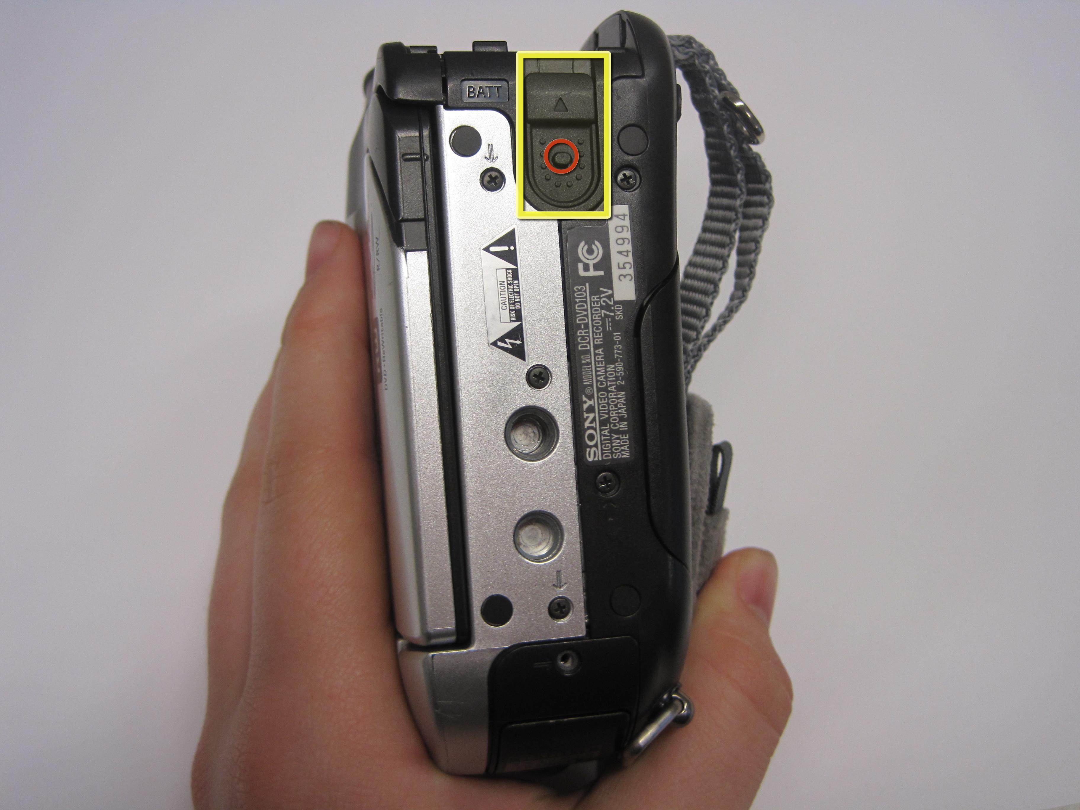 Sony Handycam Dcr Dvd103 Repair Ifixit Xbox 360 Battery