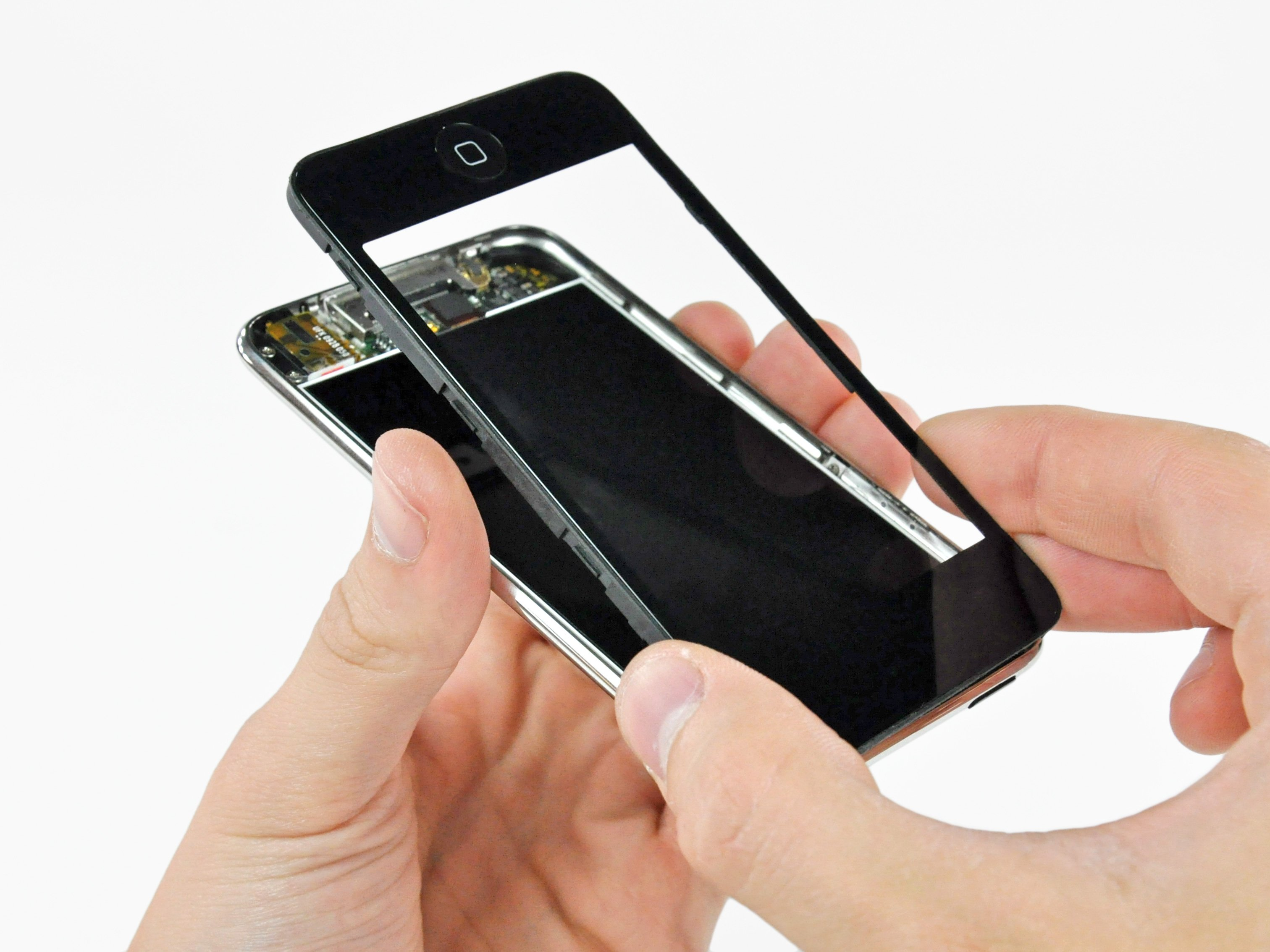 iPod Touch 2nd Generation Front Panel Replacement - iFixit ...