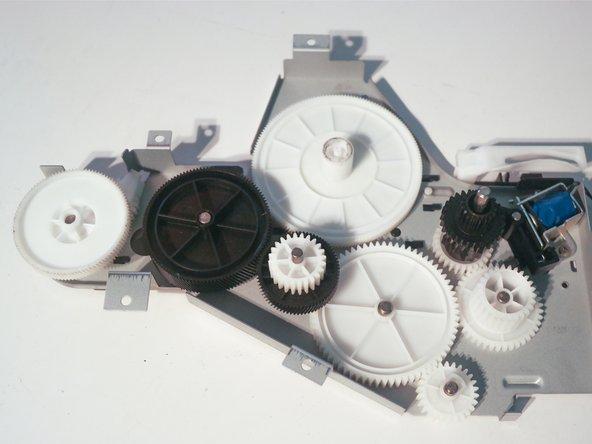 Image 2/3: Remove 1 screw to remove the third solenoid.