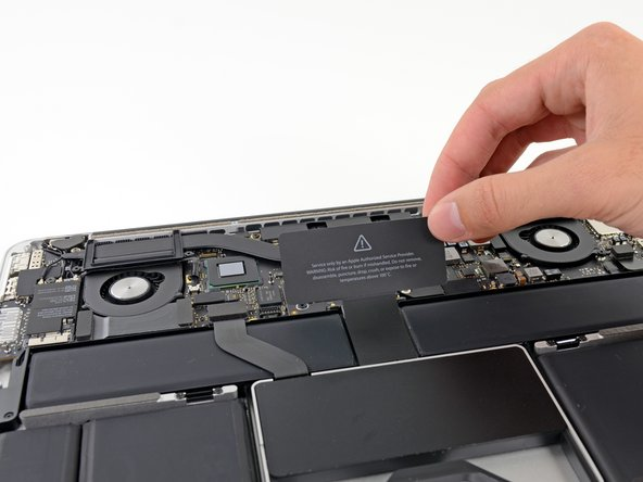 "MacBook Pro 13"" Retina Display Late 2012 Battery Connector Replacement"