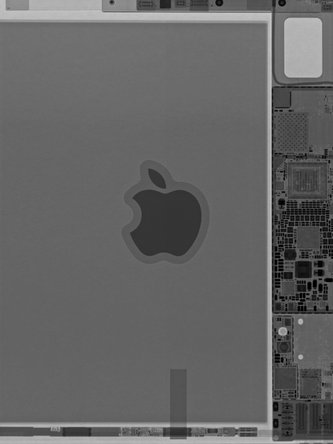 iPad Mini 5 X-Ray teardown wallpaper