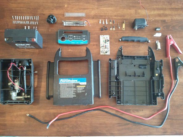 Jump Starter Power Station Teardown Ifixit