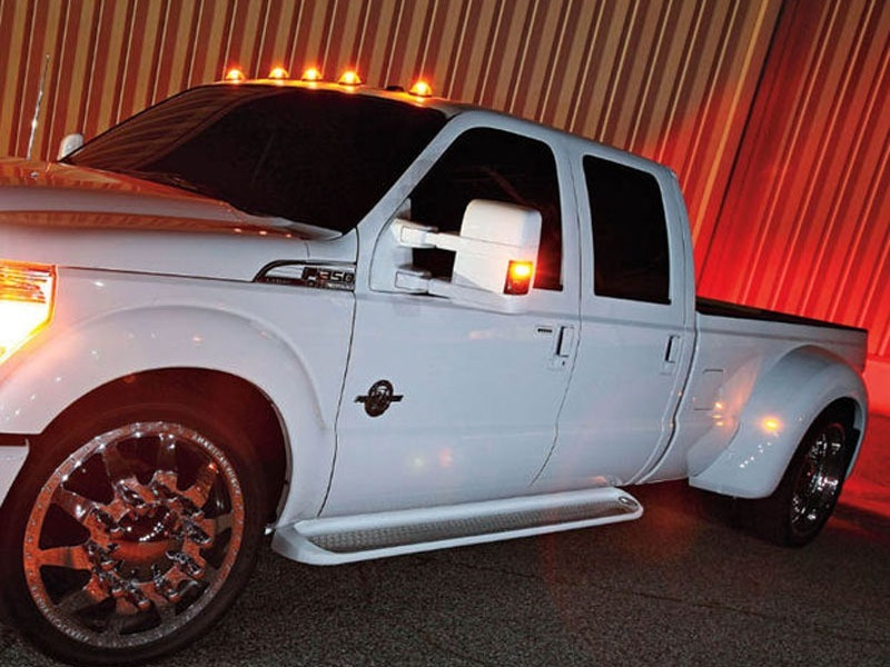 How To Install Universal Led Cab Roof Lights For A Truck
