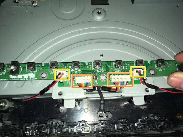 Remove the two data/power cables.