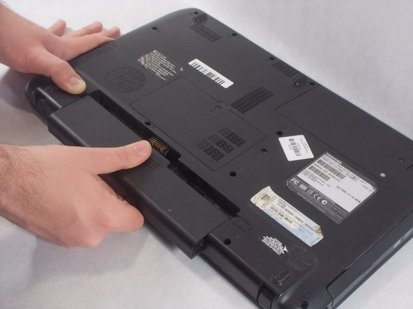 Toshiba Satellite C655-S5142 Battery Replacement