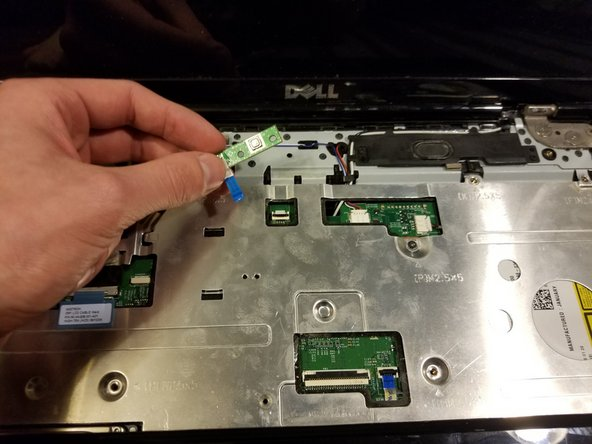 Dell Inspiron 1545 Power Button Board Replacement