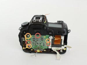 Nikon D80 Motherboard Replacement